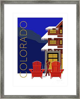 Colorado Chairs Framed Print