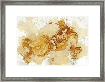 Chaise Framed Print by Brian Kesinger