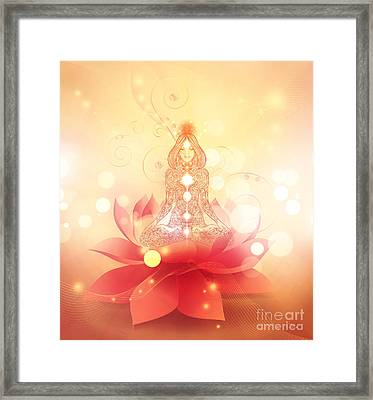 Chakra Healing Framed Print by Mo T