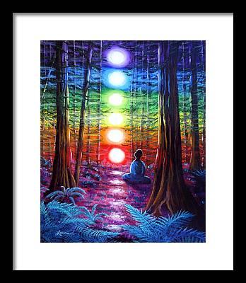 Meditation Framed Prints
