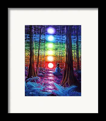 New Age Framed Prints