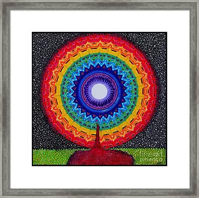 Chakra Tree Of Life Framed Print