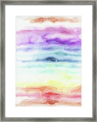 Chakras Framed Print by Emily Magone