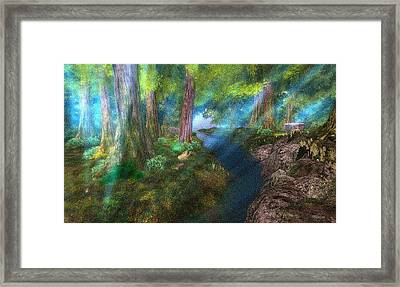Chakryn Forest Framed Print by Mark Weller