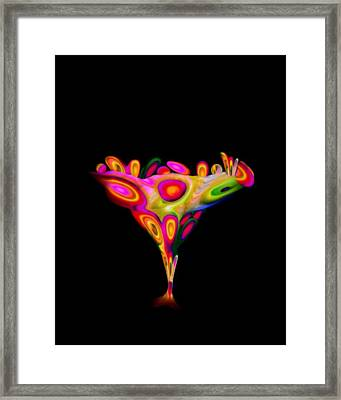 Chalice  Framed Print by Jacqueline Migell