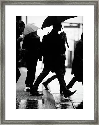 Framed Print featuring the photograph Challenge Of Peace  by Empty Wall