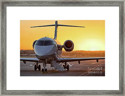 Challenger Last Light Framed Print by Nathan Gingles