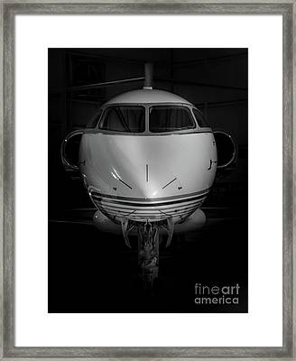 Challenger Low Key Framed Print by Nathan Gingles