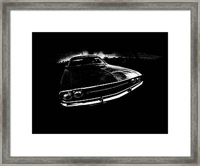 Challenger Framed Print by Mark Rogan