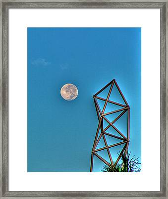 Challenger Moon Framed Print by William Wetmore