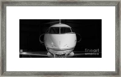 Challenger Portrait Framed Print by Nathan Gingles