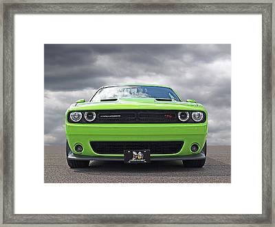 Challenger Scat Pack Framed Print
