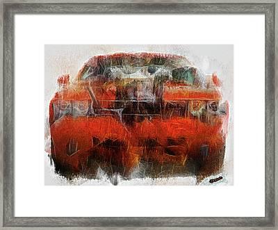 Challenger Wash Framed Print