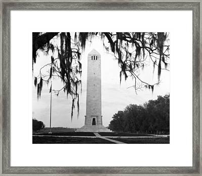 Chalmette Battlefield Monument  Framed Print