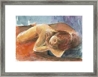 Chalom Parua Framed Print by Tali Farchi