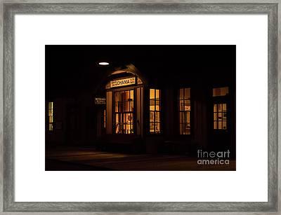 Chama Depot Framed Print