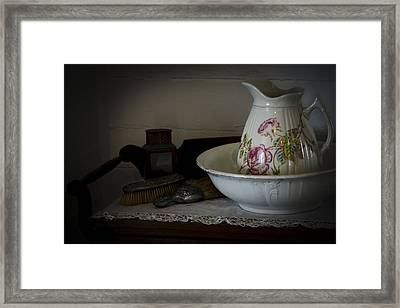 Chamber Pitcher With Basin 2 Framed Print
