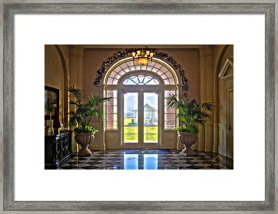 Chamberlin Hotel Framed Print by Williams-Cairns Photography LLC