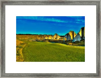 Chambers Bay #18 - The Quarry Framed Print by David Patterson