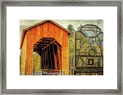 Chambers Railroad Bridge Framed Print