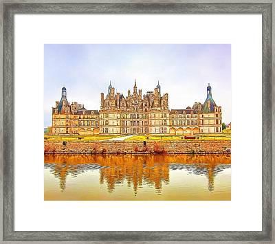 Chambord Castle Framed Print by Anton Kalinichev