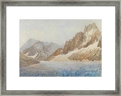 Chamonix Framed Print by SIL Severn