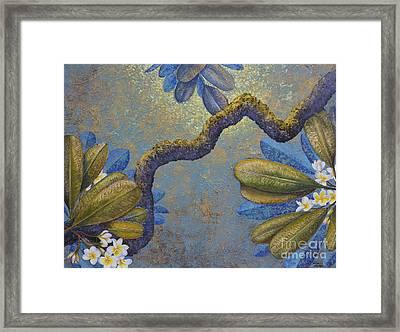 Champa Framed Print by Yuliya Glavnaya