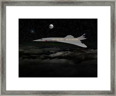 Champagne And Caviar At Mac 2 Framed Print by Smart Aviation Art