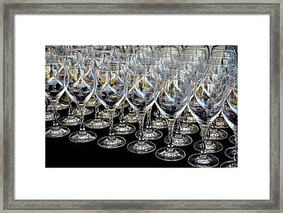 Framed Print featuring the photograph Champagne Army by Stephen Mitchell
