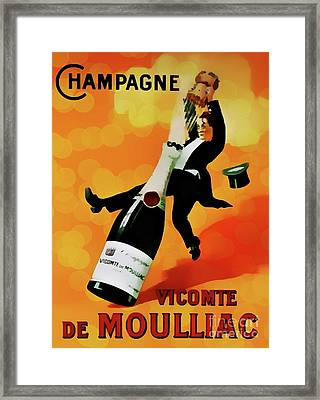 Champagne Celebration Framed Print by Ian Gledhill