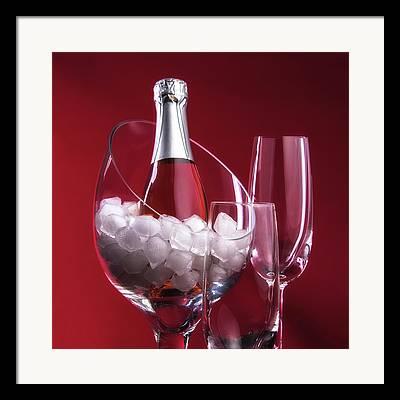 Ice Wine Framed Prints