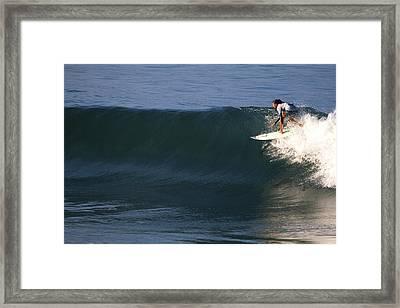 Champion Malia Manuel Framed Print by Waterdancer