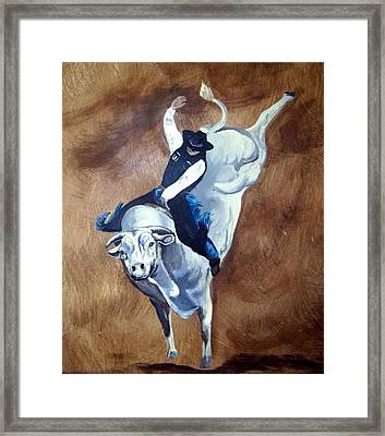 Champion Ride Framed Print by Glenda Smith