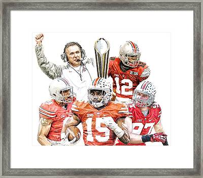 Champions Framed Print
