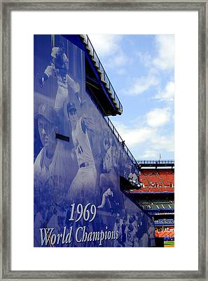 Champions Of Shea Framed Print by William Reade