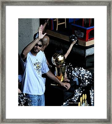 Champions On Parade Framed Print