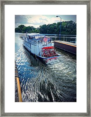 Champlain Canal Patriot Framed Print