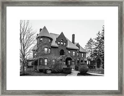 Champlain College Mc Donald Hall Framed Print
