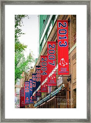 Champs Again Framed Print