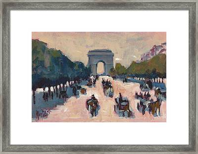 Champs Elysees Paris Framed Print