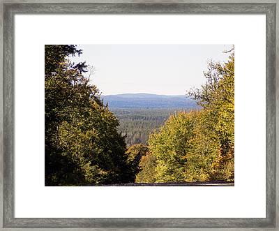 Chance Vista Framed Print by William Tasker