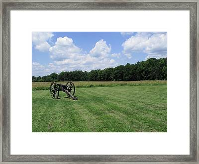 Chancellorsville Battlefield 2 Framed Print by Frank Romeo