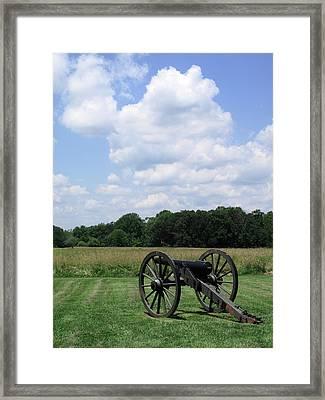 Chancellorsville Battlefield 3 Framed Print by Frank Romeo
