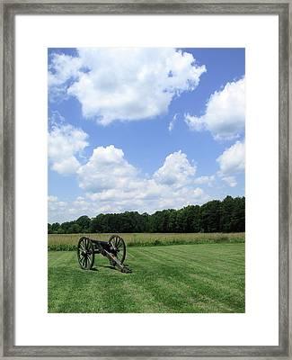 Chancellorsville Battlefield Framed Print by Frank Romeo