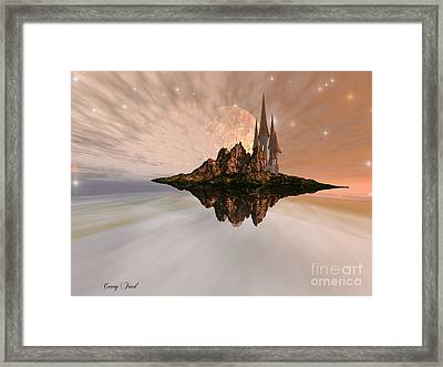 Chandara Framed Print by Corey Ford