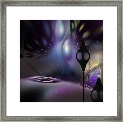 Chandeliers Framed Print