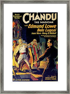 Chandu The Magician Framed Print by Movieworld Posters