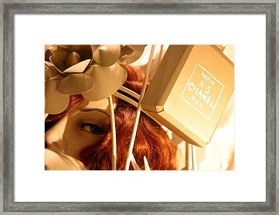 Chanel Crossing Framed Print by Jez C Self