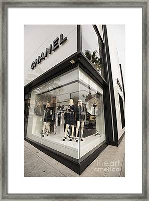 Chanel Framed Print by David Bearden