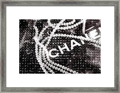Chanel Framed Print by LisaEryn
